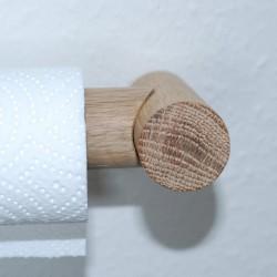 Solid oak, holder for paper