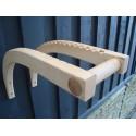 Paddle storage (max 5 paddles)